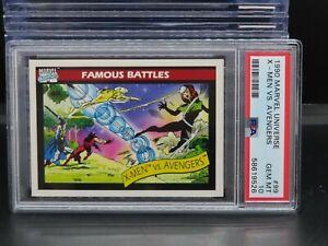 1990 Impel Marvel Universe Avengers vs X-Men #99 PSA 10 GEM MINT O47