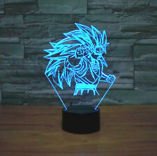 Dragon Ball Z Acrylic Son Goku 3D LED Night  Lamp Table Light Decorative Lantern