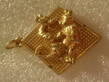 Vintage Disney Winnie The Pooh & Tigger Playing A Hundred Acre Happening Pendant
