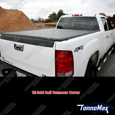 FORD F-150 SUPERCREW CAB 5.5' SHORT BED 2004-2014 SOFT TRI-FOLD TONNEAU COVER