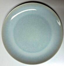 "Kim Seybert ""SHAKTI"" 8.25"" DESSERT PLATE - CRACKLE SEA GLASS POOLING OMBRE - New"