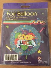 """Round 18"""" Good Luck Foil Helium Balloon (Not Inflated)"""