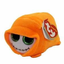 """2018 Halloween TY Beanie Boos Teeny Tys 4"""" Trick Ghoul Stackable Plush MWMT's"""