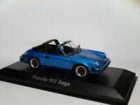 Porsche 911 Targa de 1977  au 1/43 de Minichamps / Maxichamps BLEUE 940061261