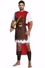 Adult Roman Gladiator Costume Greek Soldier Warrior Fancy Dress Stag Do Party