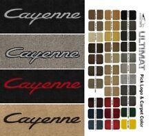 Lloyd Mats Porsche Cayenne Front Cayenne Logo Floor Mats (2003 & Up)