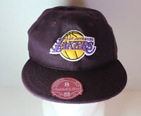 LA Lakers NBA Mitchell & Ness Size 8 Fitted Hat NEW