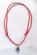 Red STRING KABBALAH LUCKY Necklace Against Evil Eye Success Hand Fatima Hamsa