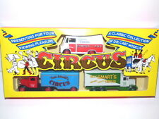 Lledo Circus Classic Collection gift set CR1003 Fossetts, Arnolds & Smarts