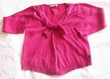 CONFETTI Absorba - Designer Girls 4-5 yr Hot Pink Cardigan w/beaded collar NWOT