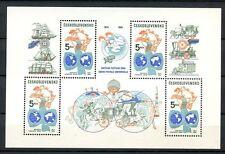 Cecoslovacchia 1984 SG #MS 2738 UPU MNH M / S #A 35561