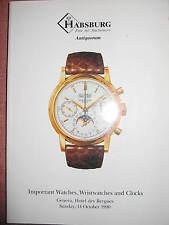 Patek Philippe, tra l'altro, orologi, Habsburg, anti quorum, 1990