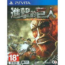 PS Vita Attack on Titan Shingeki No Kyojin (Asian Chinese) ASIA EXCLUSIVE | NEW