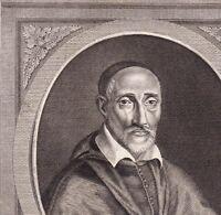 Portrait XVIIIe Henri De Sponde Henricus Spondanus Juriste Evêque Pamiers