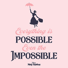 Disney Mary Poppins Canvas Printed Art Wall Hanging Decorative