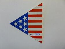 VECCHIO ADESIVO ORIGINALE / Old Original Sticker SITO SILENCERS (cm 6,5 x 8)