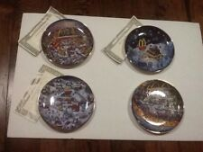 McDonalds Golden Country Plate By Bill Bell set of 4