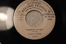 "Homer & Jethro 45rpm ""Your Clobbered Heart"" & ""Gamblers Git Box"" RCA Vic 47-5429"