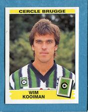 FOOTBALL 96 BELGIO Panini - Figurina-Sticker n. 90 -W. KOOIMAN-C.BRUGGE-New
