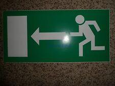 Fluchtweg-Notausgangsschild selbstklebend Pfeil links