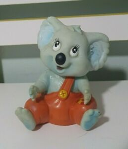 BLINKY BILL Puppet Pizza Hut Towball Cover 90s Blinky Bill Koala Toy 13cm Tall!