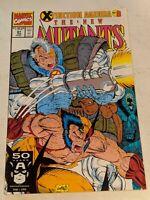 The New Mutants #97 January 1991 Marvel Comics
