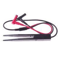 SMD LCR Precision Test Pen Measurement Tweezers Multimeter Inductive Clip Probe