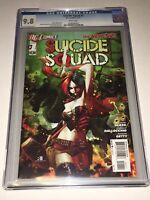 Suicide Squad #1 CGC 9.8 NM/MT DC 2011 New 52 Harley Quinn