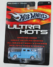 Hot Wheels ULTRA HOTS '50s CHEVY TRUCK BLUE REAL RIDERS 1:64