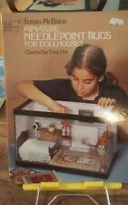 Miniature Needlepoint Rugs for Dollhouses Susan McBaine Easy charts
