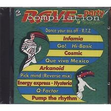 Rave-Party Compilation - INFAMIA SIGMATIBET DJ PROJECT CD 1992  SIGILLATO SEALED