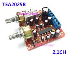 TEA2025B 2.1CH 3 Channel Stereo Subwoofer Bass Audio Amplifier Board 3WX2 5W~10W