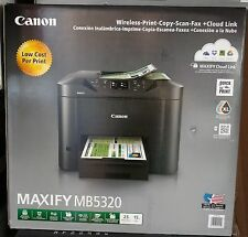 Canon MAXIFY MB5320 Wireless Office All-in-One Inkjet Printer/Copy/Scan/Fax NEW