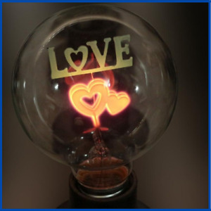 Indoor Night Lights Rose & Flower & I-Love-You Holiday Christmas Wedding Decor