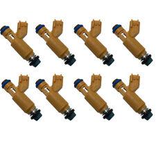 Set 8 OEM Fuel Injectors 2W93-AA for Jaguar Land Rover Range Rover 4.2L 4.4L V8