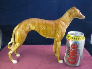 Ultra Rare Vintage Beswick / Royal Doulton   Beautiful Large Standing Greyhound