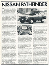 1988 Nissan Pathfinder - Original Car Print Article J242