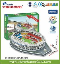 3D Puzzle Model Beijing Workers Stadium Gongti Arena GuoAn FC Football Club Home
