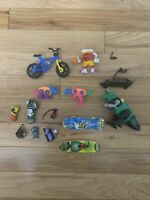 Lot Of Small Toys - Skateboards, Bike, Kool Aid Man Figure Basketball, Alien