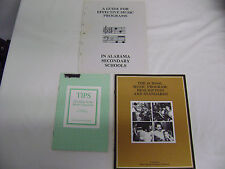 Lot of 2 MENC publications and 1 Alabama Music Ed publications