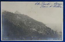 VARAZZE PIANI D'IVREA Villa  viaggiata 1914  f/p foto Sciutto #22150