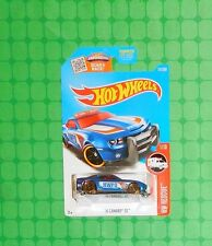 2016 Hot Wheels Rescue #211 - '10 Camaro SS - Police Car - Blue