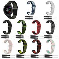 Silikon Uhrenarmband Armband Für Garmin Forerunner 220 230 235 620 630 735XT Uhr
