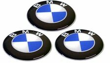 KIT 3 ADESIVI BMW RESINATI 1 CM 3D ADESIVO LOGO STIKERS RESINATO COD10
