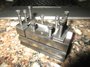 VINTAGE VERY GOOD QUALITY UNKNOWN MAKER MACHINIST V BLOCK IN GOOD CONDITION