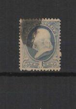 États-Unis d'Amérique 1870 B. Franklin un timbre oblitéré /T2373