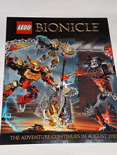 SDCC 2015 EXCLUSIVE BIONICLE POSTER  DOUBLE SIDED PROMO POSTER by lego comic-con