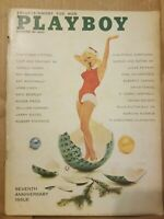 Playboy  December, 1960 * Good Condition * Free Shipping USA