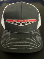 VINTAGE PONTIAC GTO 64 65 66 67 68 69 GOAT MUSCLE CAR PATCH GRAY TRUCKER HAT NEW
