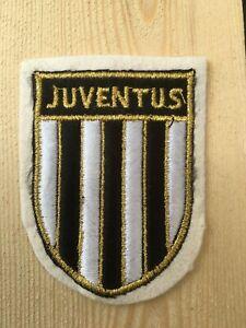 Patch toppa CM8X6 scudetto in stoffa ricamato squadra calcio Juventus